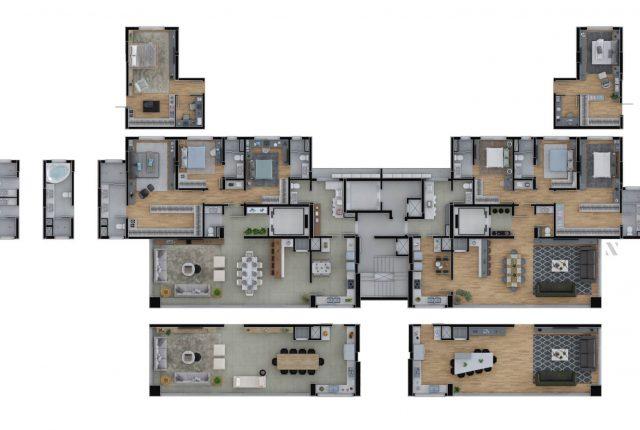 Reserva Sangiovese | Apto 3 Dormitórios