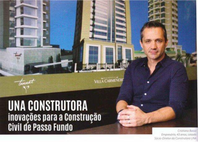 UNA CONSTRUTORA inovações para a construção civil de Passo Fundo