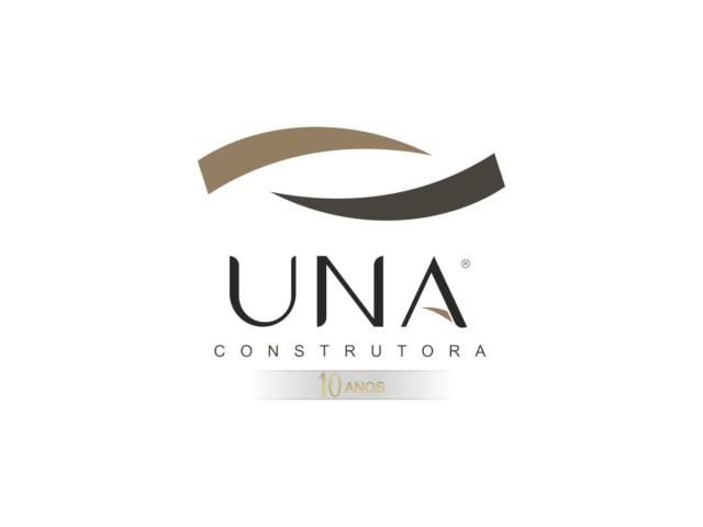 UNA CONSTRUTORA lança logotipo comemorativo de  10 anos de atuação
