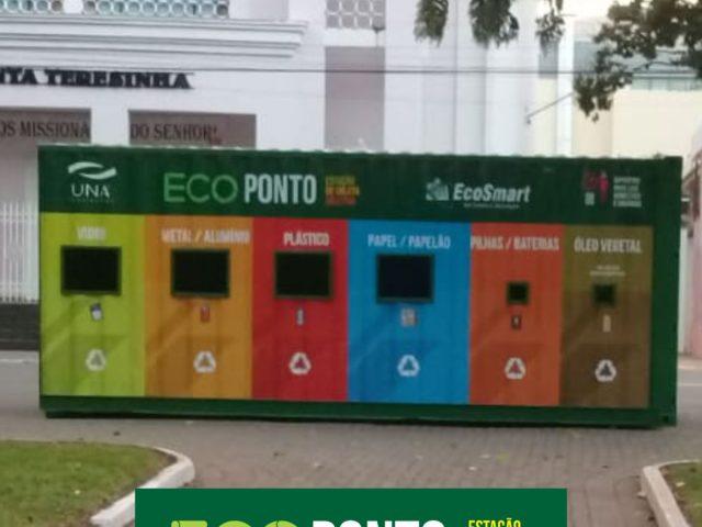 Ecoponto UNA/EcoSmart (Estação de Coleta Seletiva)