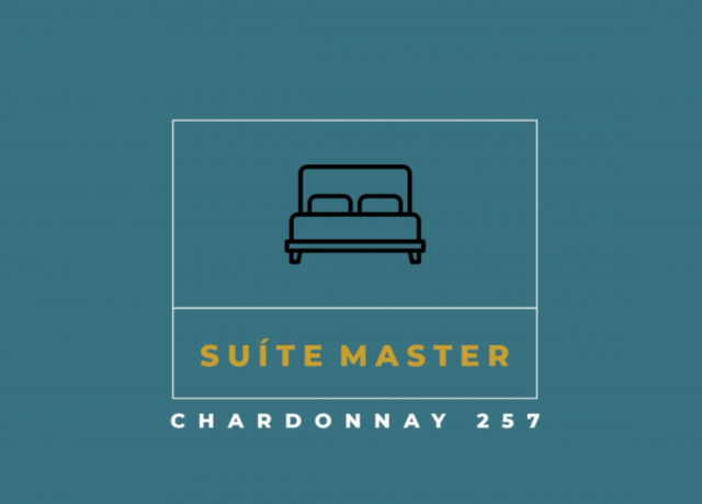 Conheça a SUÍTE MASTER . CHARDONNAY 257